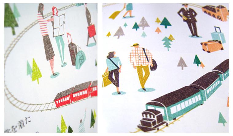 Ilustraciones para CREA Traveller