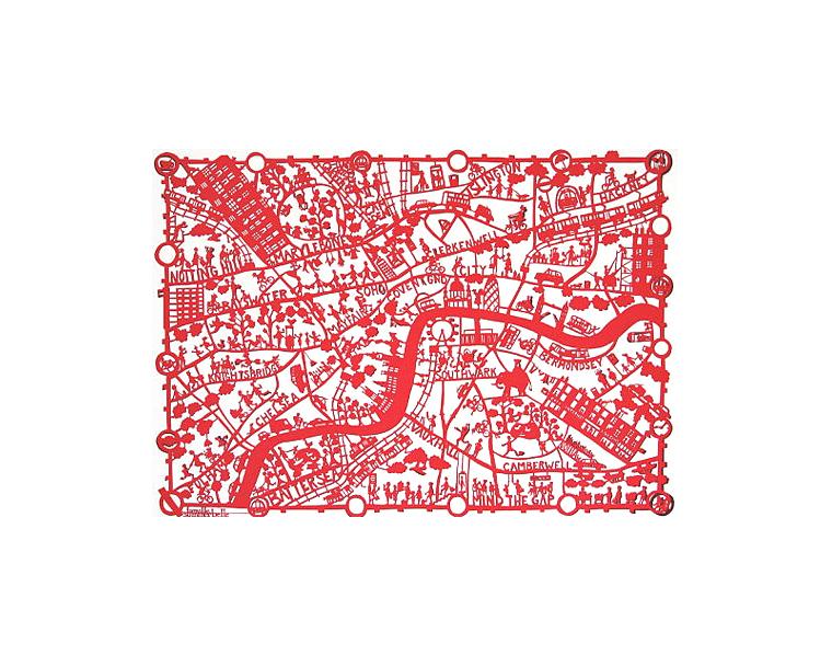 mapa-idealizado-de-londres-papel-cortado