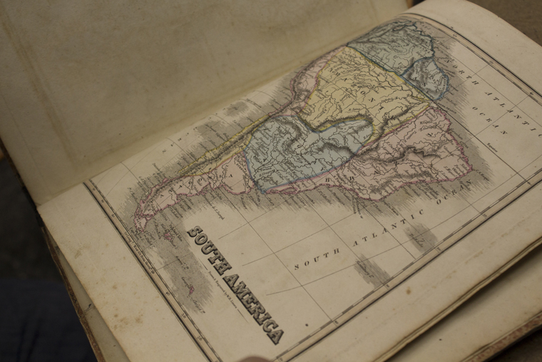The Edinburgh School Atlas, 1822